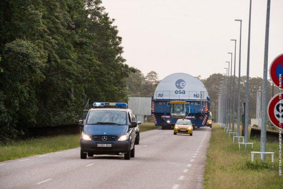 VA237 Transfert convoi EPC du port de Pariacabo vers le BIL, le