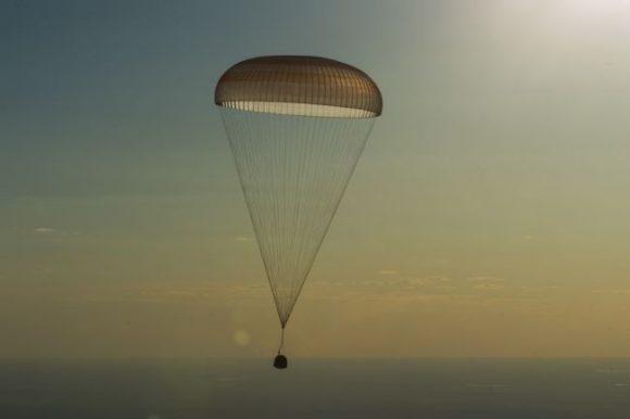Regreso de la Soyuz MS-03 (TsPK).