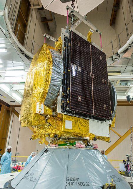 GSAT 17 (Arianespace).
