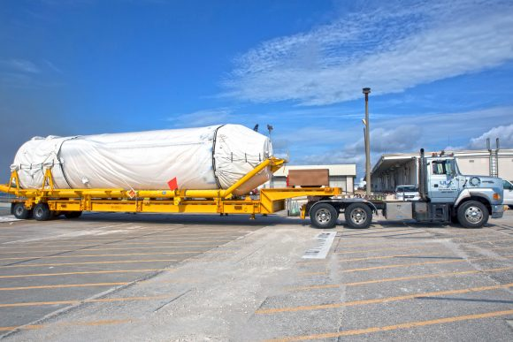 TDRS-M Atlas V Booster and Centaur Stages Offload, Booster Trans