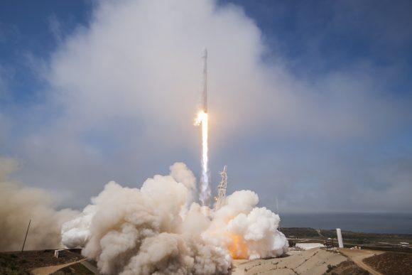 Lanzamiento del Formosat 5 (SpaceX).