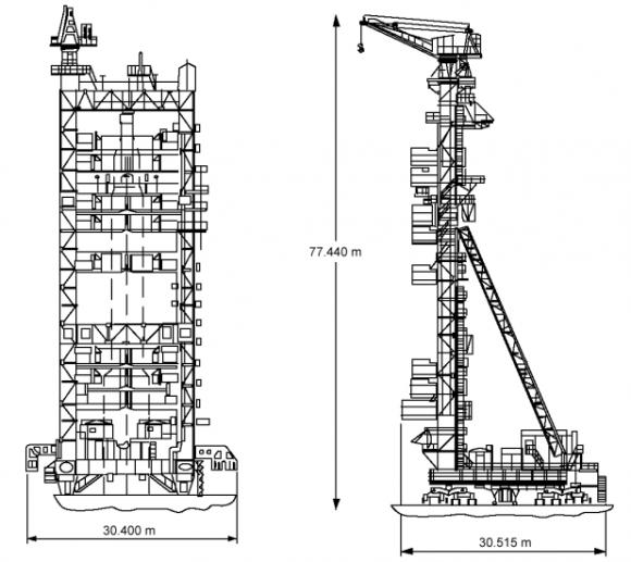 Torre de servicio (ILS).