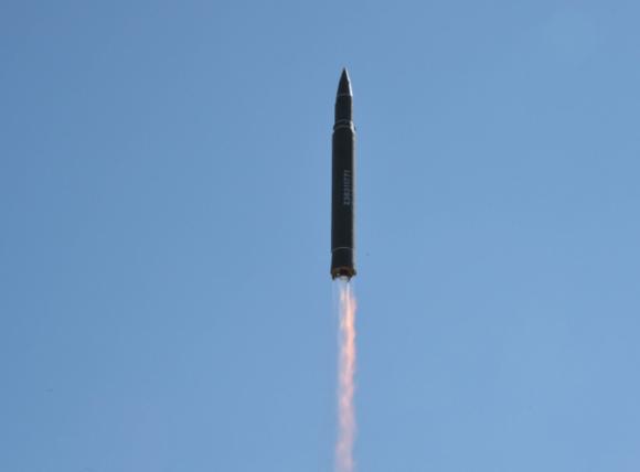 Primer lanzamiento del misil norcoreano Hwasong 14 (New York Times).