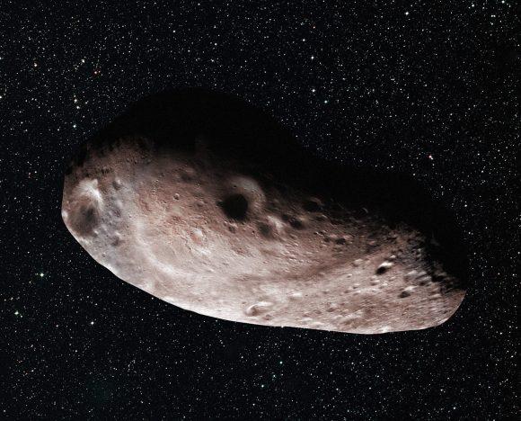 Otra interpretación de la forma de 2014 MU69 según  los datos de las ocultaciones (NASA/JHUAPL/SwRI/Alex Parker).