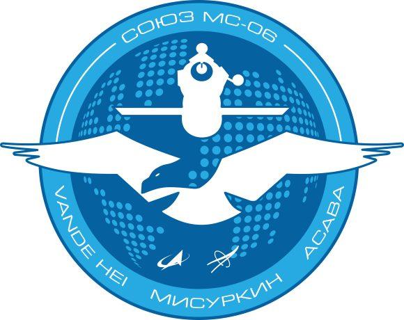 Emblema de la Soyuz MS-06 (Roscosmos).