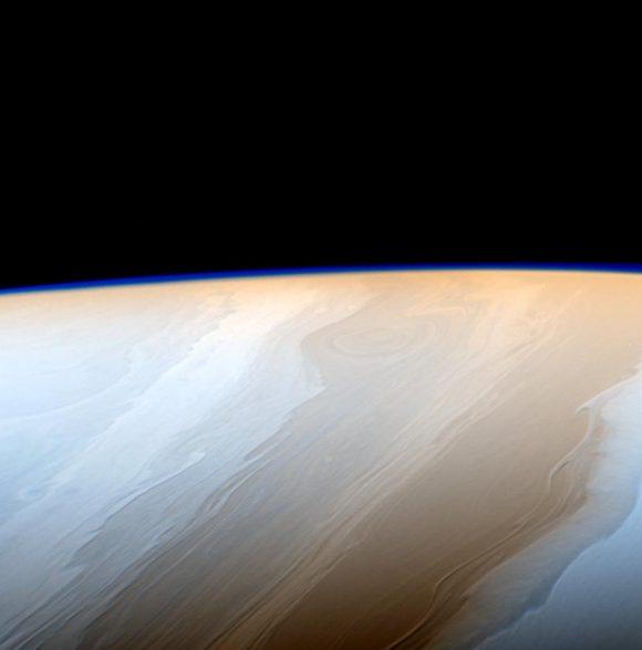 Las nubes de Saturno vistas el 18 de mayo de 2017 (NASA/JPL-Caltech).