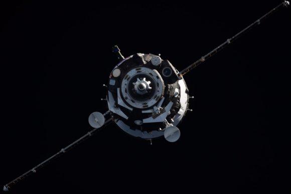Acoplamiento de la MS-06 con la ISS (NASA).