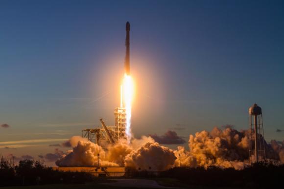 Lanzamiento del SES-11 (SpaceX).