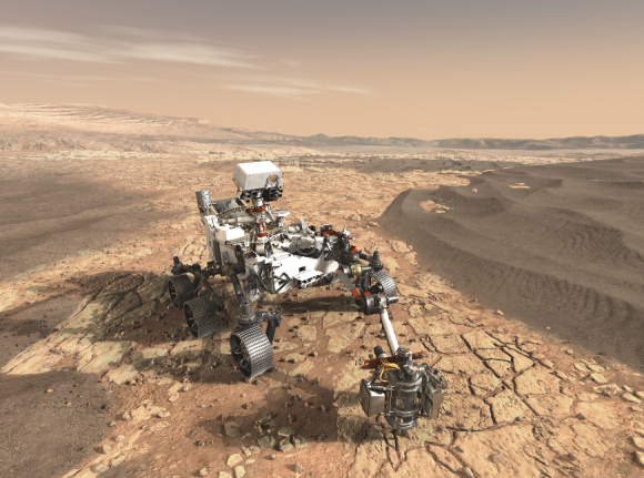 El rover Mars 2020 es la única sonda de la NASA en firme que usará un RTG (NASA).