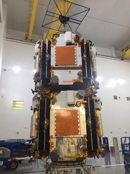 Satélites Iridium NEXT de esta misión (SpaceX).