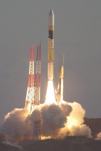 Lanzamiento del Michibiki 4 (JAXA).