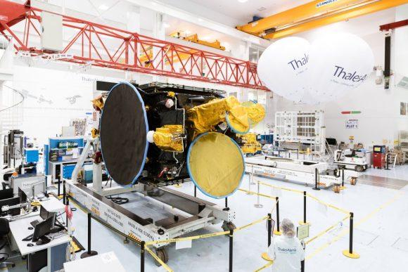 Koreasat 5A (Thales Alenia Space).