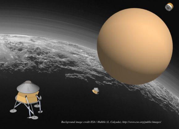 Pluto Hop, Skip and Jump