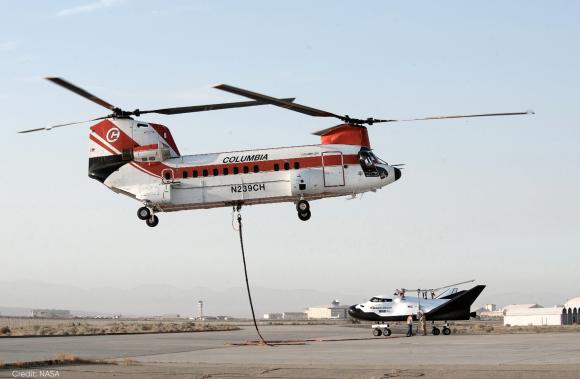 El helicóptero se presta a elevar el