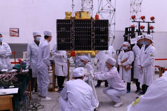 Satélites Jilin 1 (CCTV).