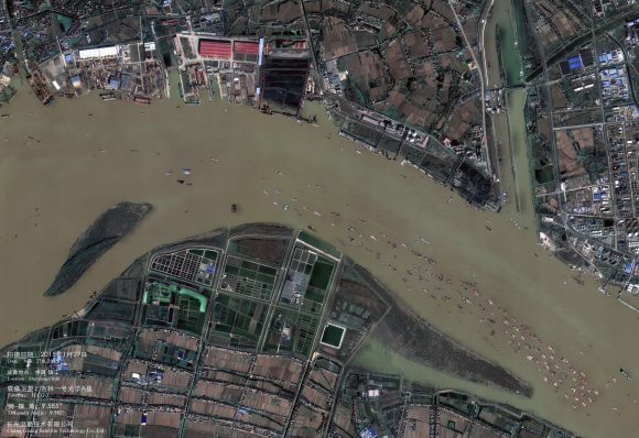 Imagen de un satélite Jilin 1 (CGST).