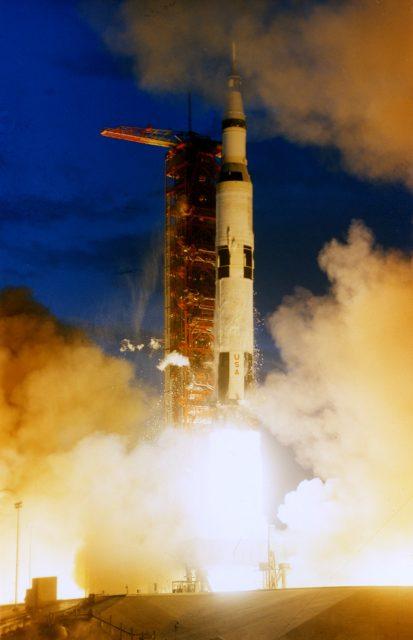 Lanzamiento del Apolo 4 (NASA).