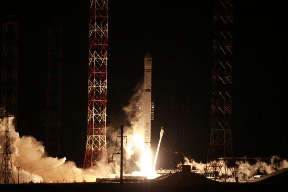 Lanzamiento del Angosat 1 (Roscosmos).