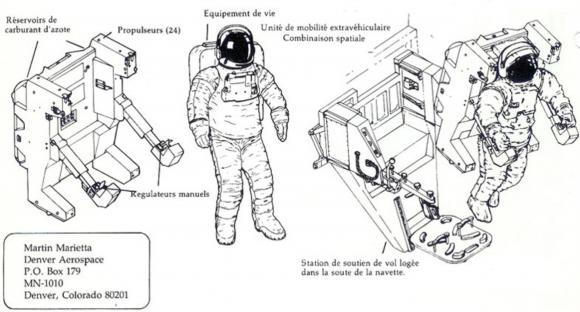 Mochila MMU (NASA).