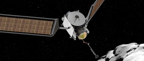 El diseño de CAESAR recuerda a OSIRIS-Rex (NASA).