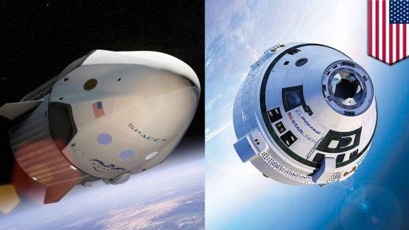En 2018 veremos el debut de las naves CST-100 Starliner de Boeing y Dragon 2 de SpaceX (NASA).
