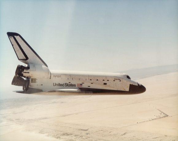 El Columbia vuelve a la Tierra tras su primera misión (NASA).