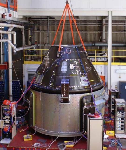 Structural Test Article (STA) de la Starliner (Boeing).