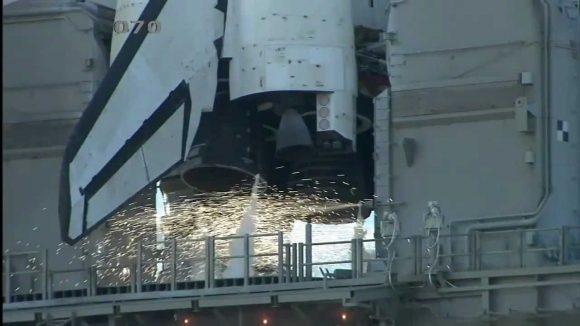 Los ROFI del shuttle en acción (NASA).