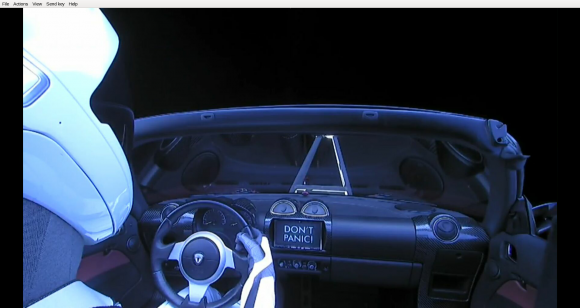 Don't Panic (SpaceX).