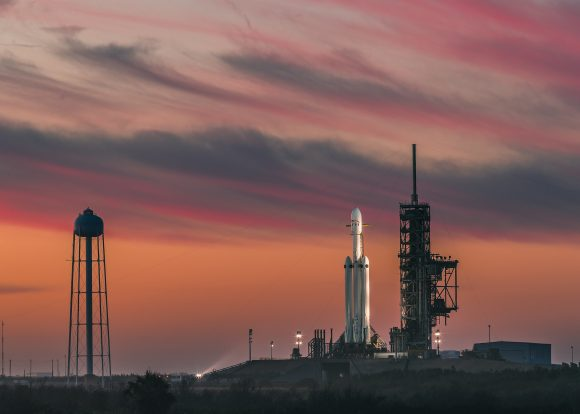 Poco antes del lanzamiento (SpaceX).