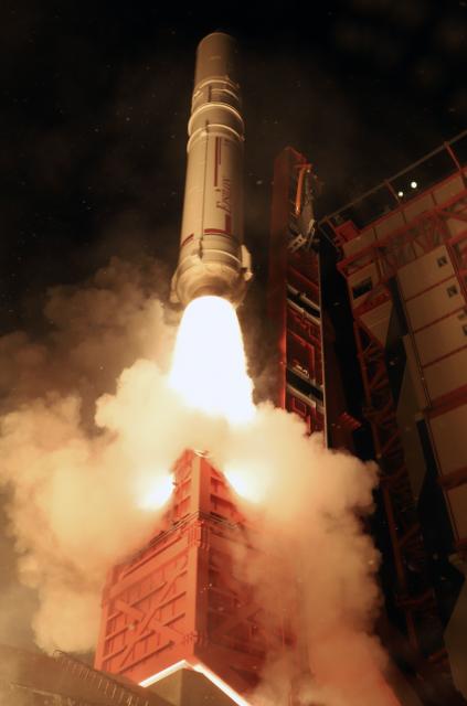 Lanzamiento del ASNARO 2 (JAXA).