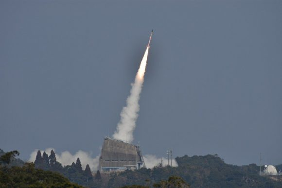 Despegue del SS-520-5 (JAXA).