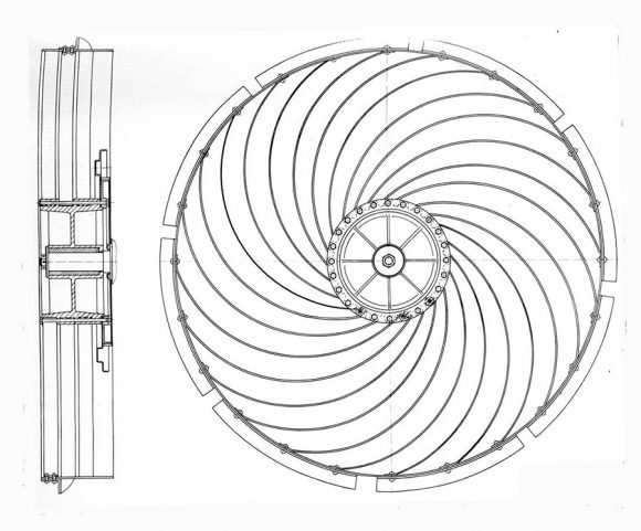 Detalle de la rueda (RKK Energía).