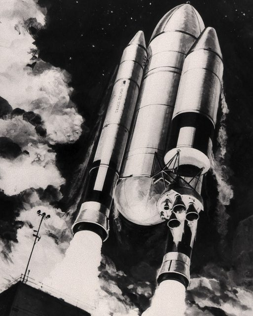 Otra variante del Shuttle-C (NASA).