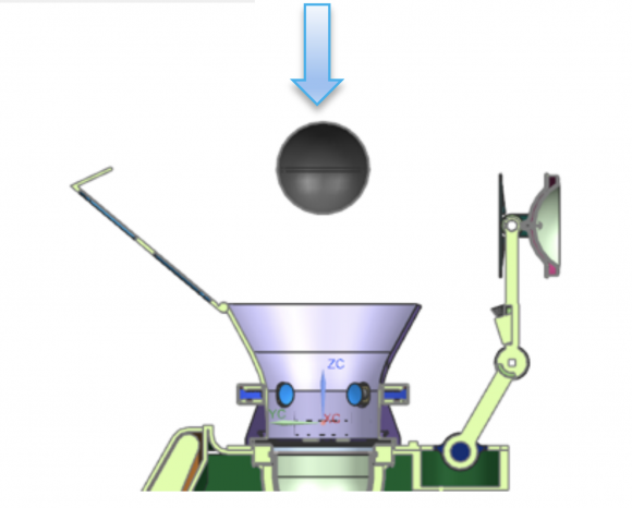 Sistema de captura de la cápsula SO (NASA).