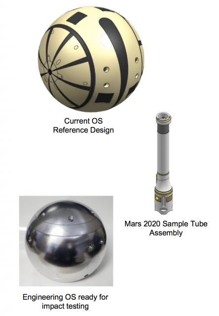 Cápsula SO para el retorno de muestras (NASA).