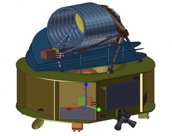 Telescopio espacial ARIEL (ESA).