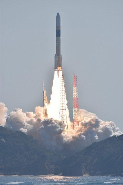 Lanzamiento del IGS-O-6 (JAXA).