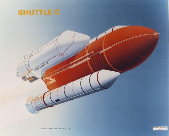 Una de las versiones del Shuttle-C ().