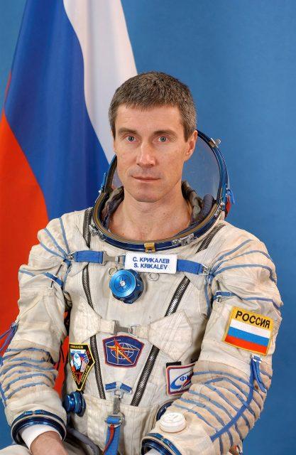 Serguéi Krikaliov (NASA).