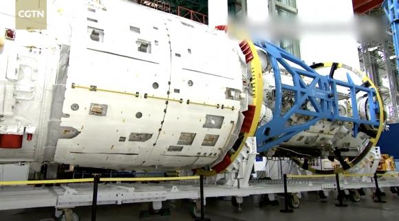 Módulo Tianhe de 20 toneladas (CCTV).