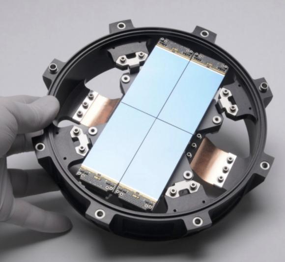 Detalle de uno de los cuatro detectores de una cámara (NASA).