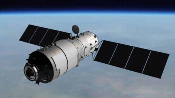 Estación espacial Tiangong 1 (Xinhua).