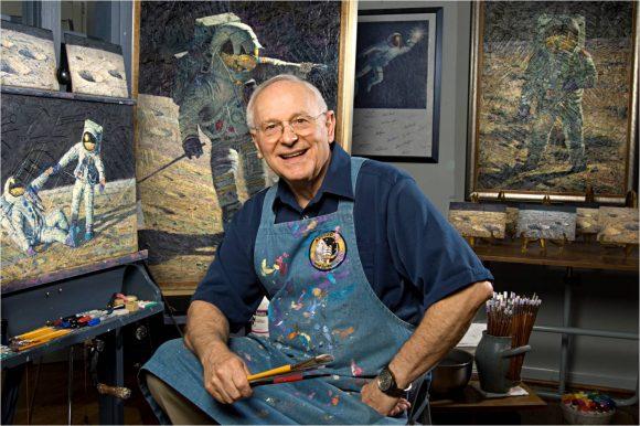 Alan Bean, el astronauta pintor (NASA).