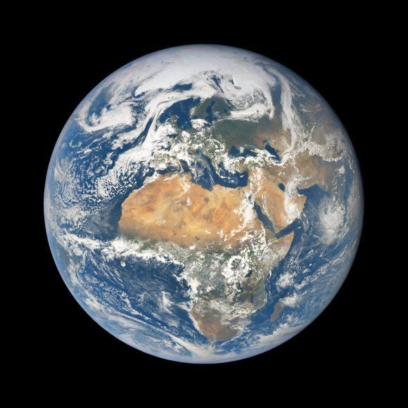 La Tierra vista por DSCOVR el 27 de mayo (NASA/EPIC).