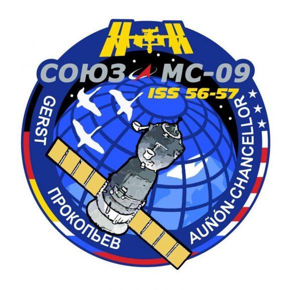 Emblema de la misión (Roscosmos).