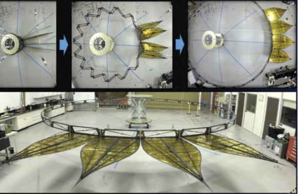 Prototipo de Starshade (NASA).