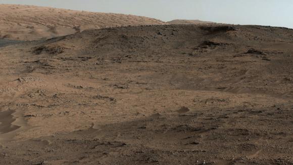Zona de las colinas Pahrump (NASA/JPL).