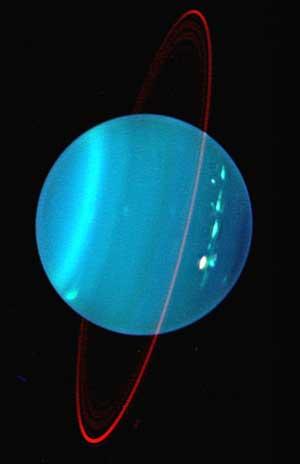 Urano sorprendente
