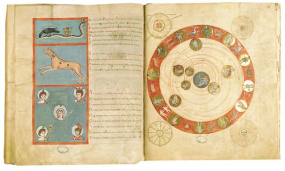 Copia de los Fenómenos de Arato del siglo XI